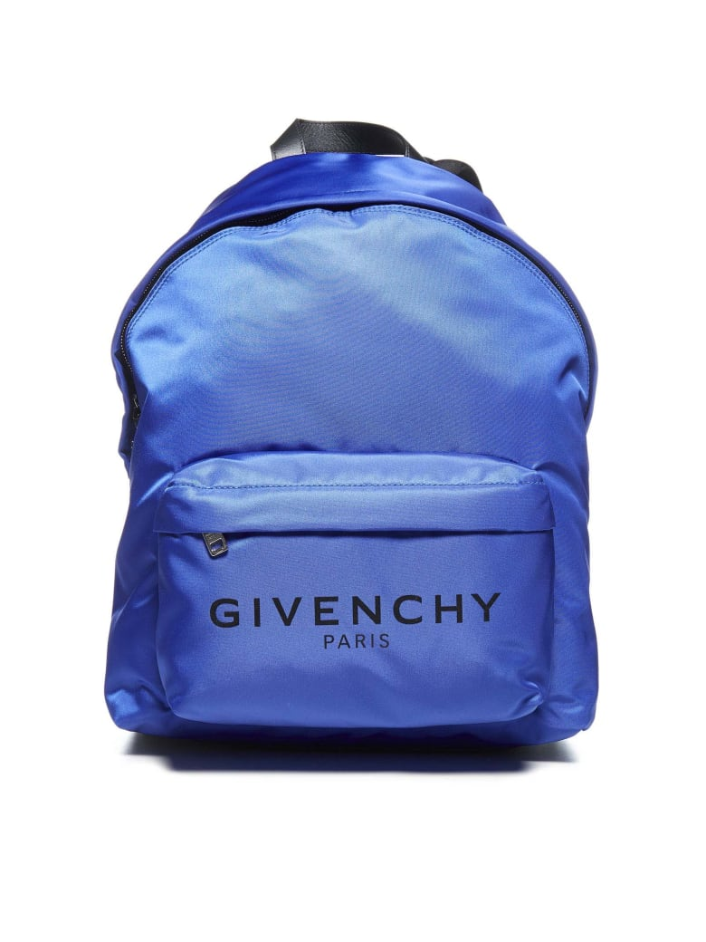 Givenchy Logo Backpack - Blue