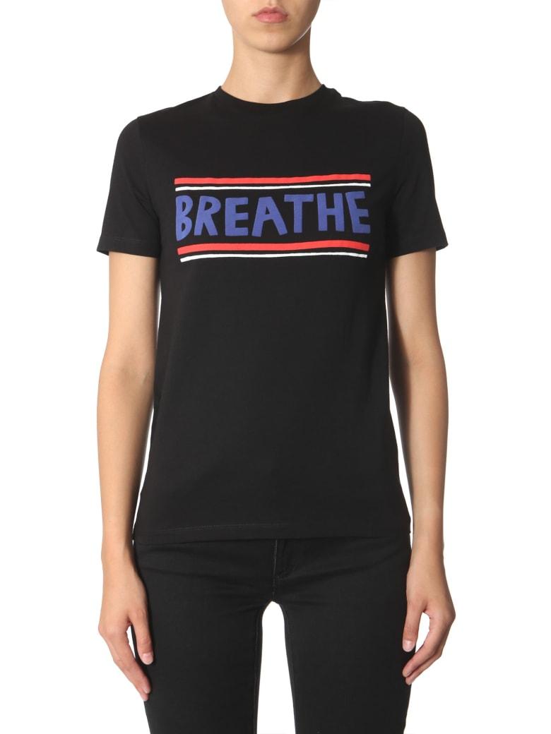 Etre Cecile Breathe-t Print T-shirt - NERO
