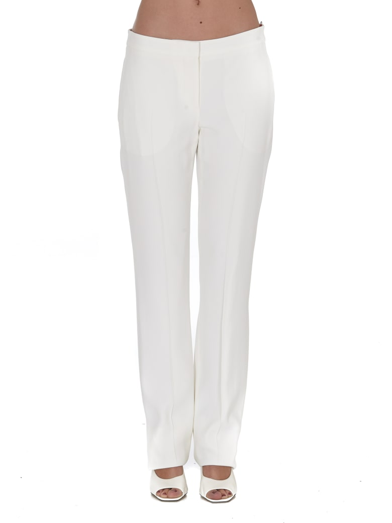 Alexander McQueen Trousers - WHITE