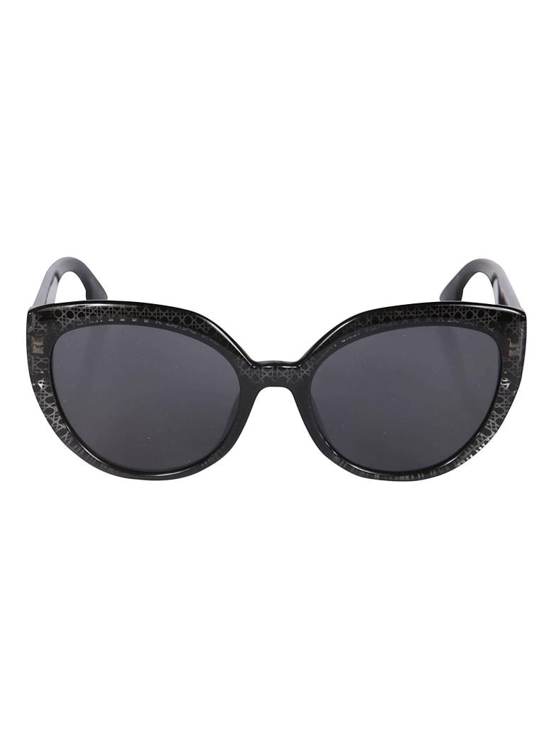 Christian Dior Cat Eye Sunglasses DDiorF - Black