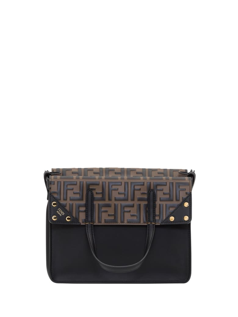 Fendi Fendi Flip Small Handbag - Nero
