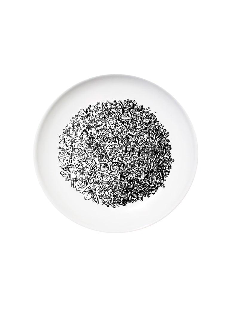 Kiasmo Dish World | Overlook - Black/White