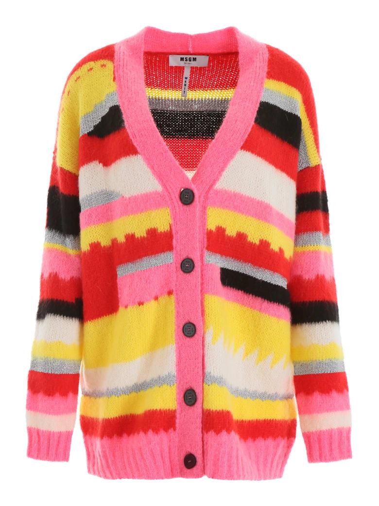 free shipping bcd06 5470f MSGM Multicolor Cardigan