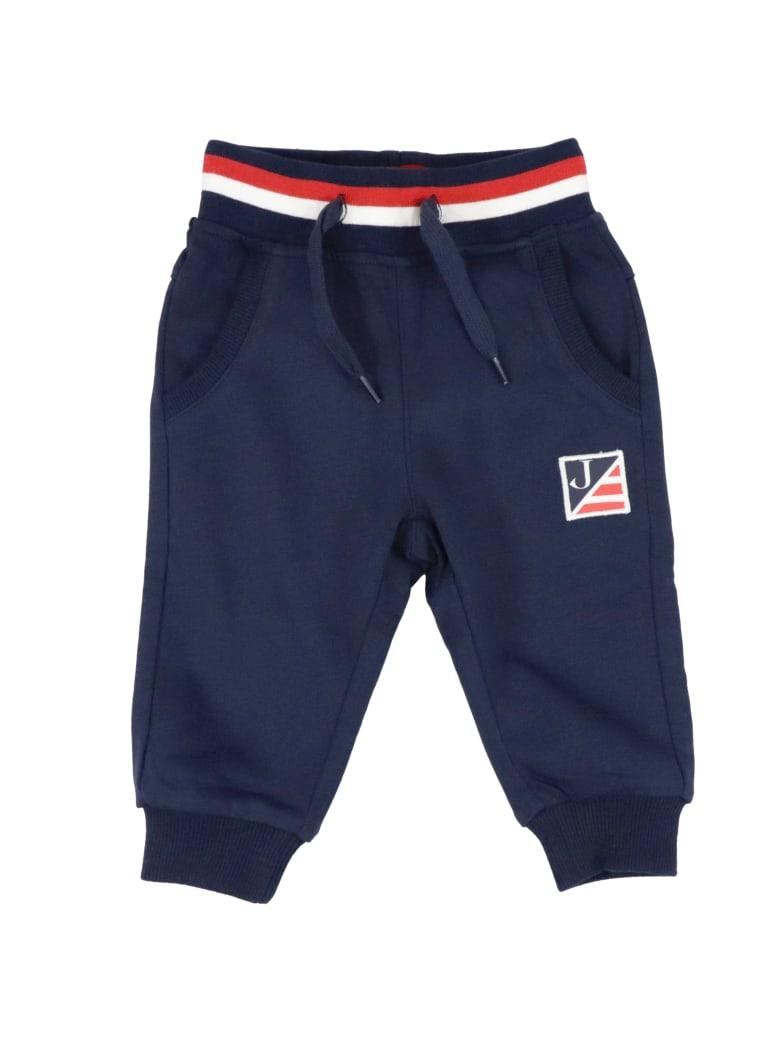 Jeckerson Cotton Sweatpants - BLUE