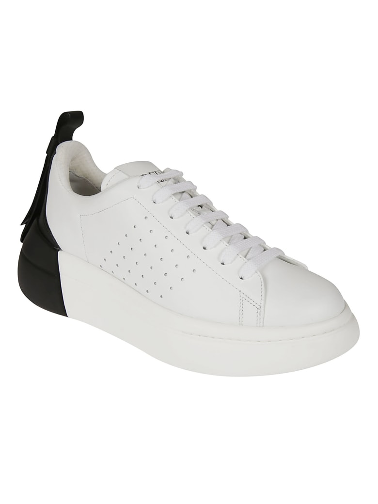 RED Valentino Perforated Sneakers - White