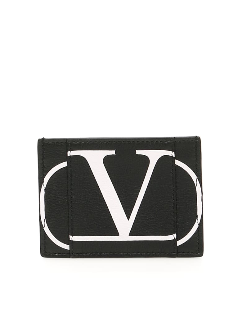Valentino Garavani Vlogo Cardholder - NERO (Black)