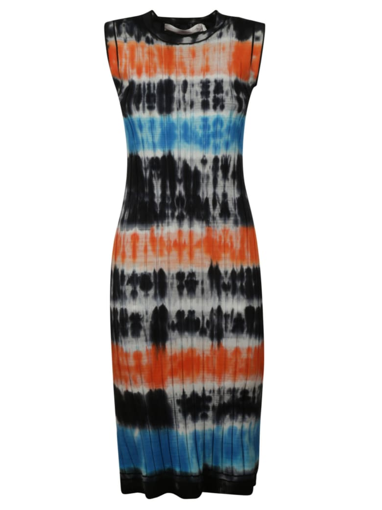 Victoria Beckham Printed Tank Dress - multicolored