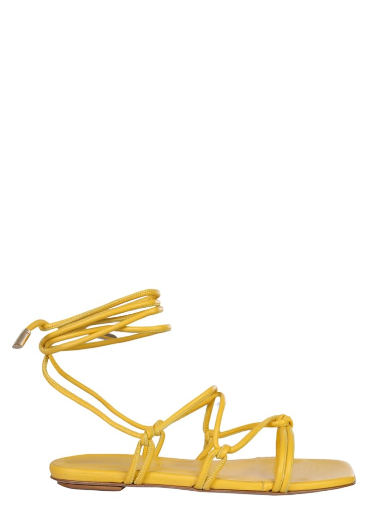GIA COUTURE Beautiful Sandals - GIALLO