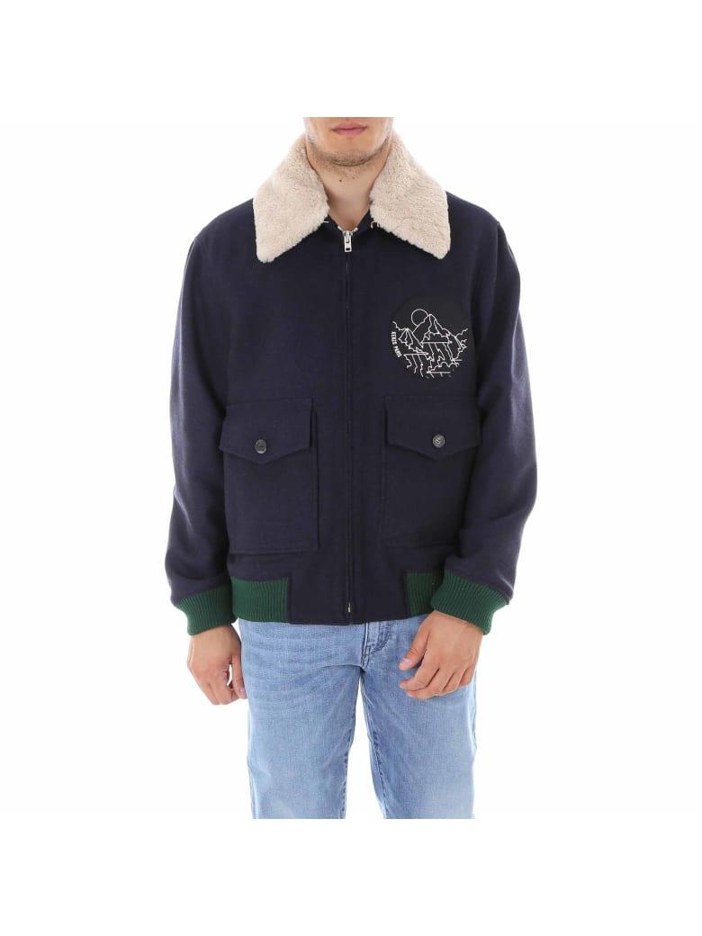 acheter en ligne achat spécial mieux Best price on the market at italist   Kenzo Kenzo Shearling Collar Blouson  Jacket