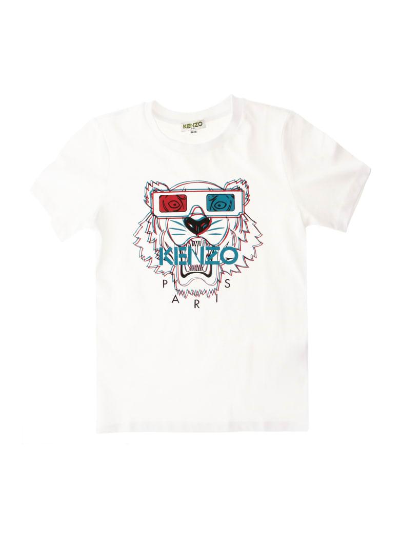 Kenzo T-shirt Tiger Jb 4 - Bianco