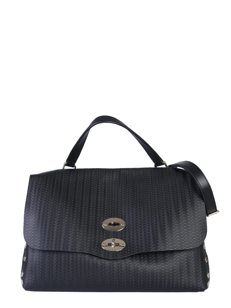 Zanellato Medium Postal Bag - NERO