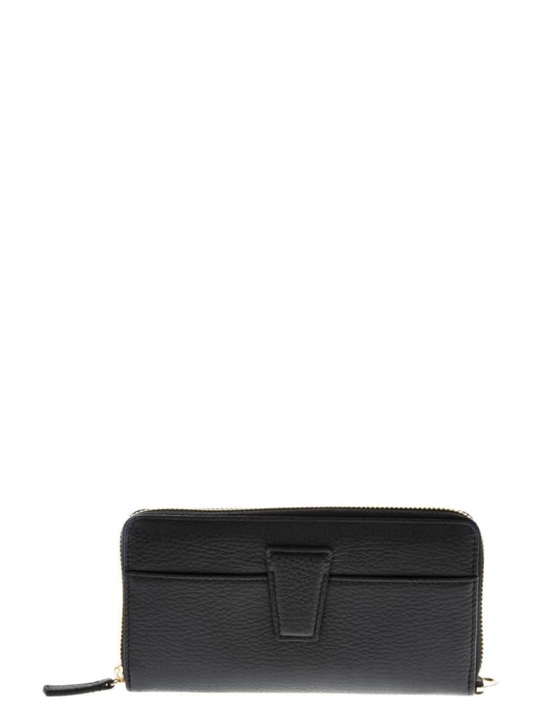Gianni Chiarini Black Leather Wallet - Black