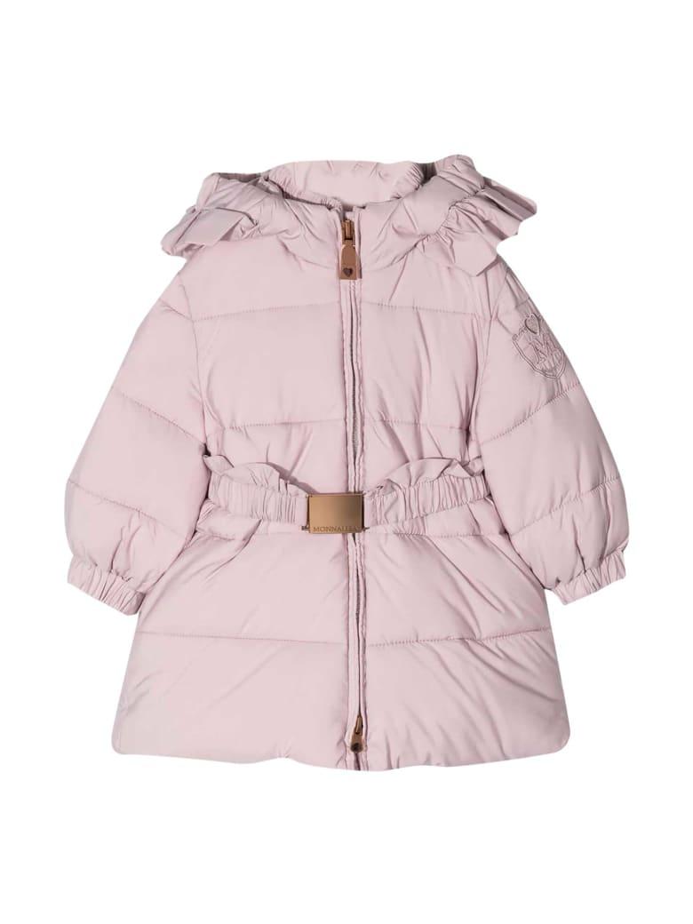 Monnalisa Monnalisa Pink Down Jacket - Unica
