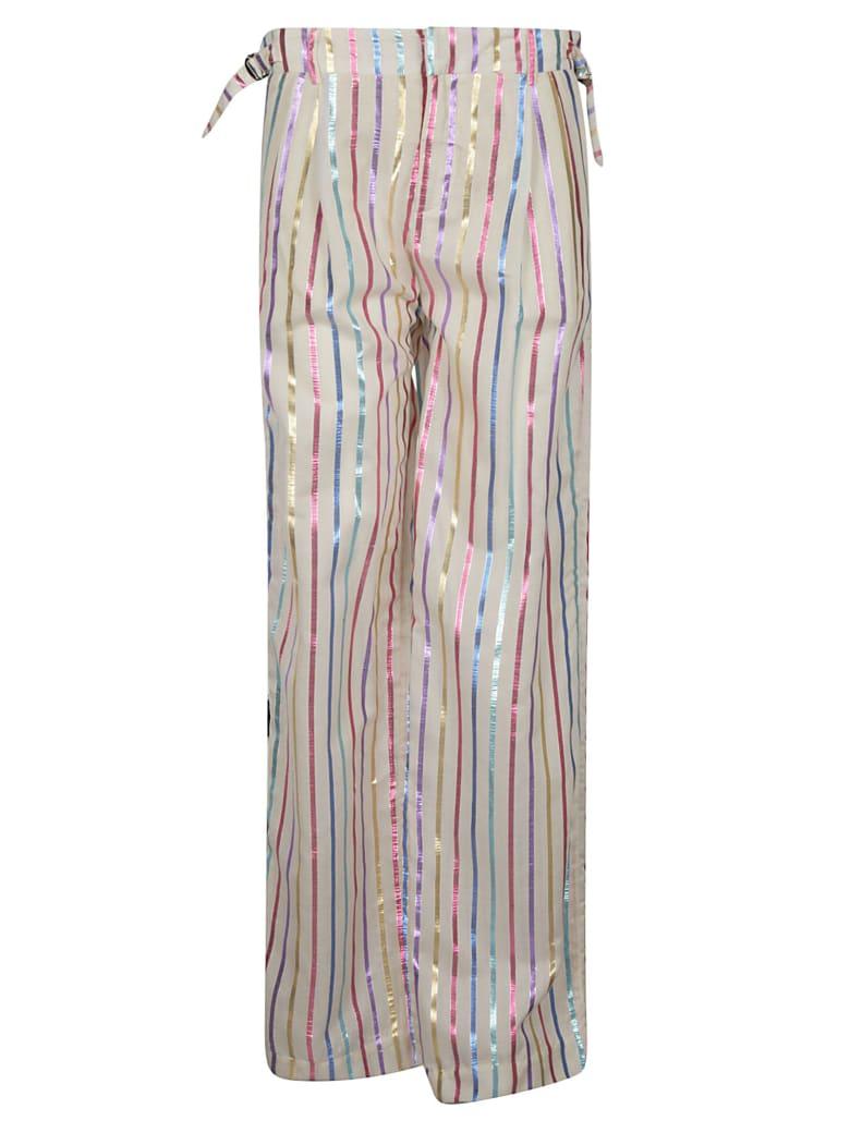 The Attico Striped Trousers - Multicolor