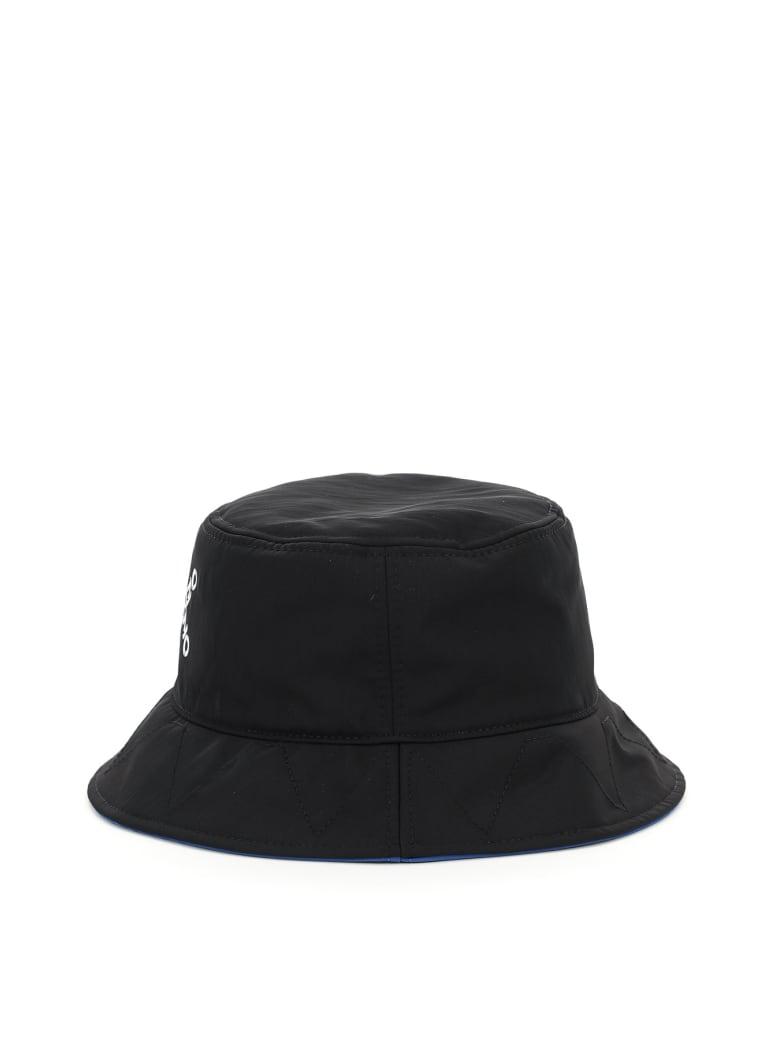 Kenzo Bucket Hat With Cross Logo - Nero