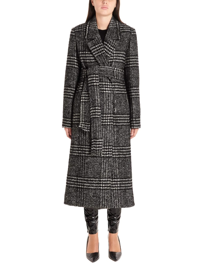 Karl Lagerfeld Coat - Black&White