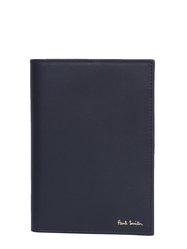 Paul Smith Leather Passport Holder - NERO