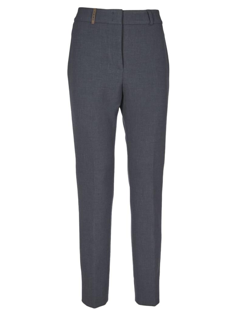 Peserico Woman Trousers - Grey