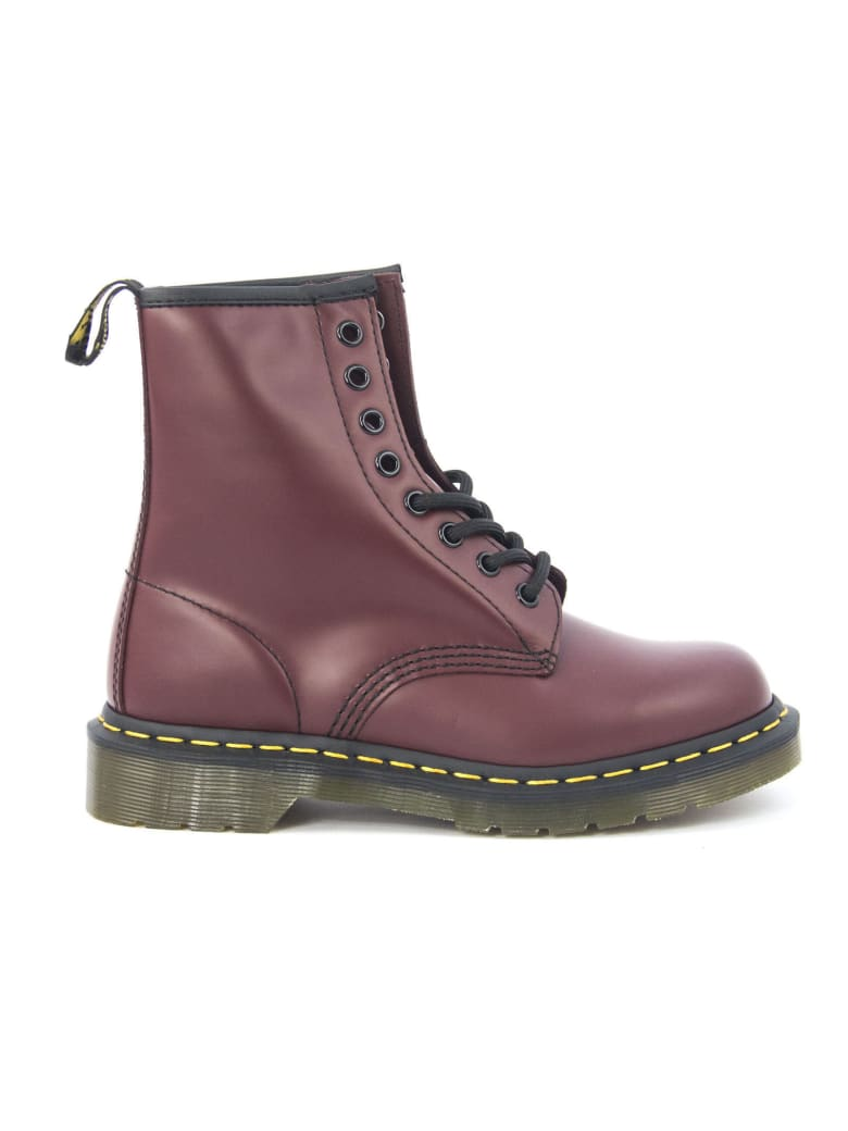 Dr. Martens 1460 Red Cherry Smooth - Bordo