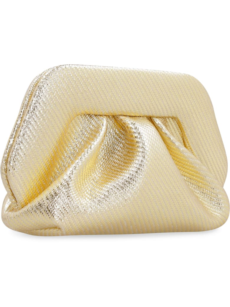 THEMOIRè Gea Metallic Clutch - Gold