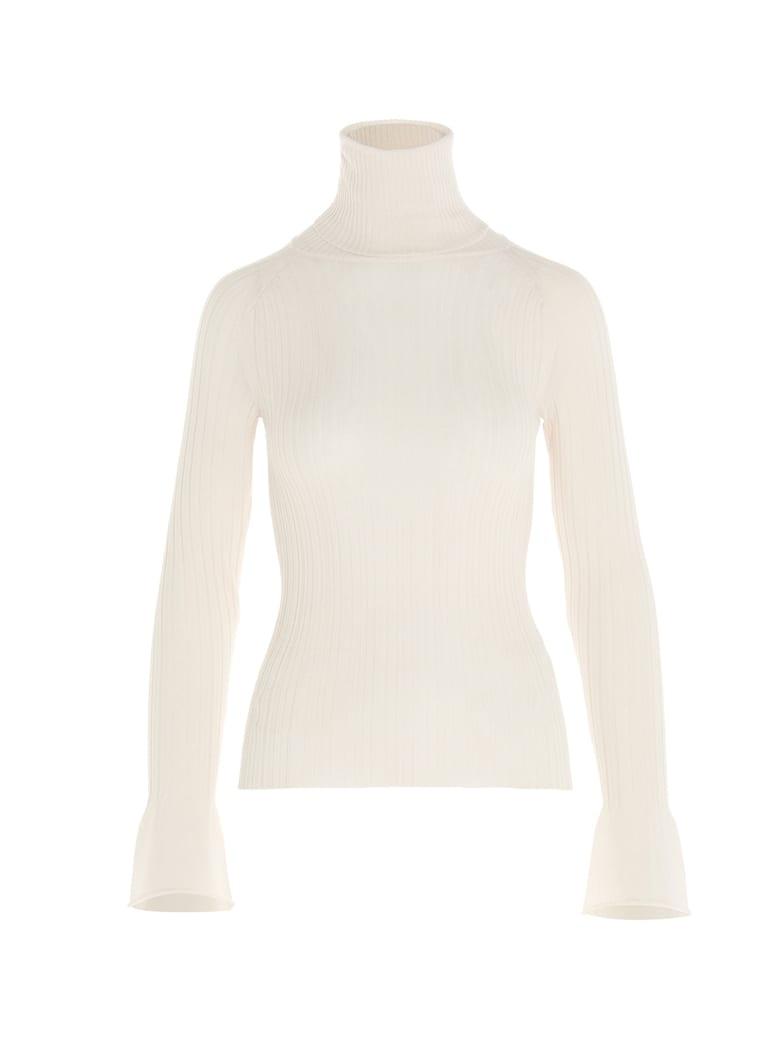 (nude) Sweater - White