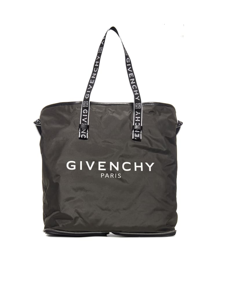 Givenchy Logo Print Shopper Tote - Nero