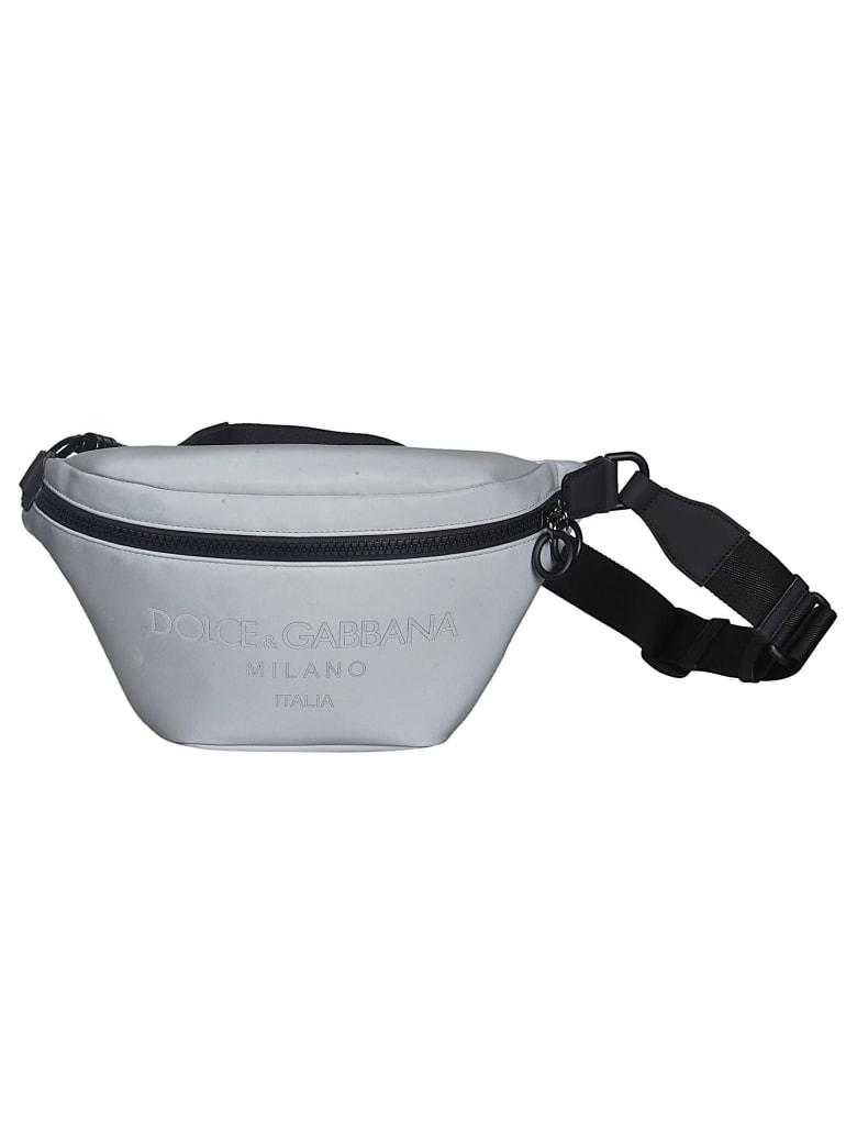 Dolce & Gabbana Large Baby Carrier Belt Bag - Argento