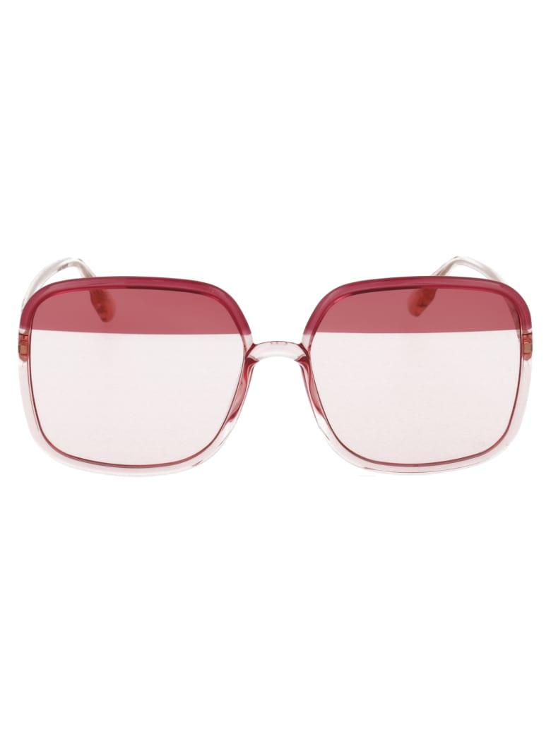 Dior Sostellaire1 Sunglasses - 0T5TX BURGUNDY PINK