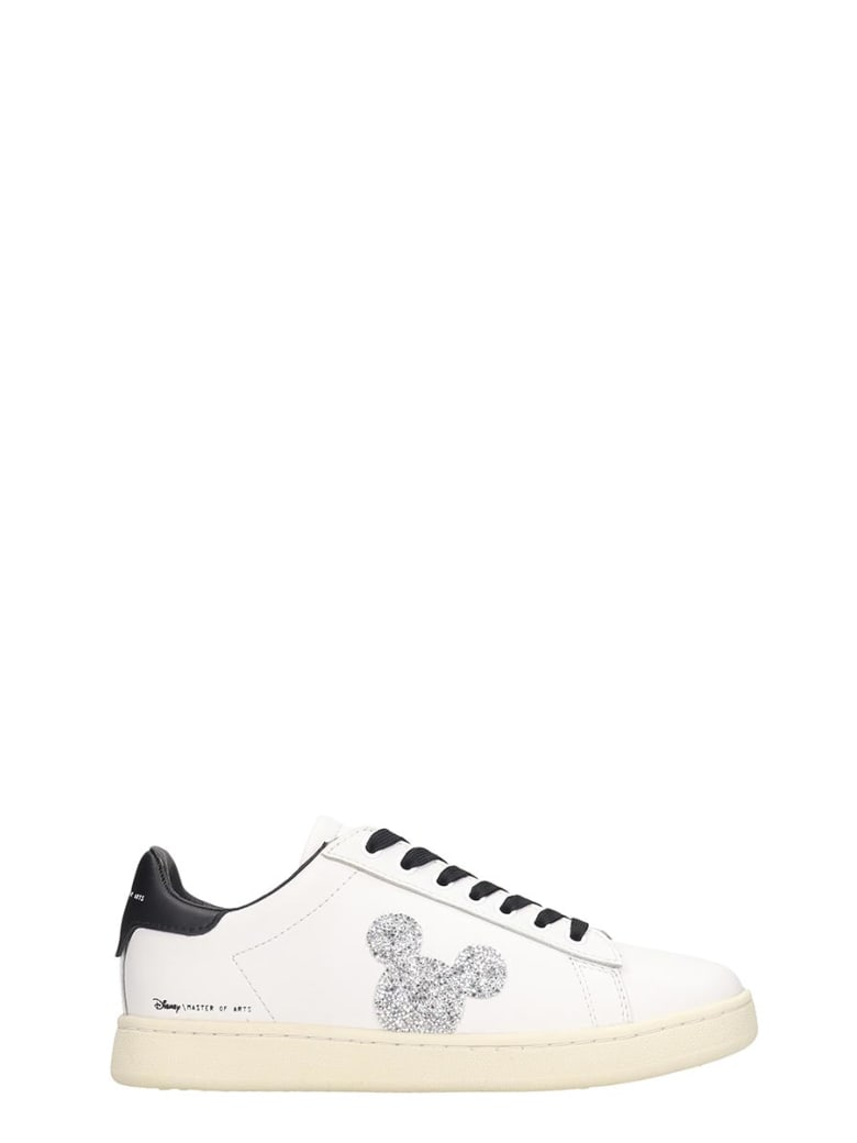 M.O.A. master of arts Sneakers In White Leather - white