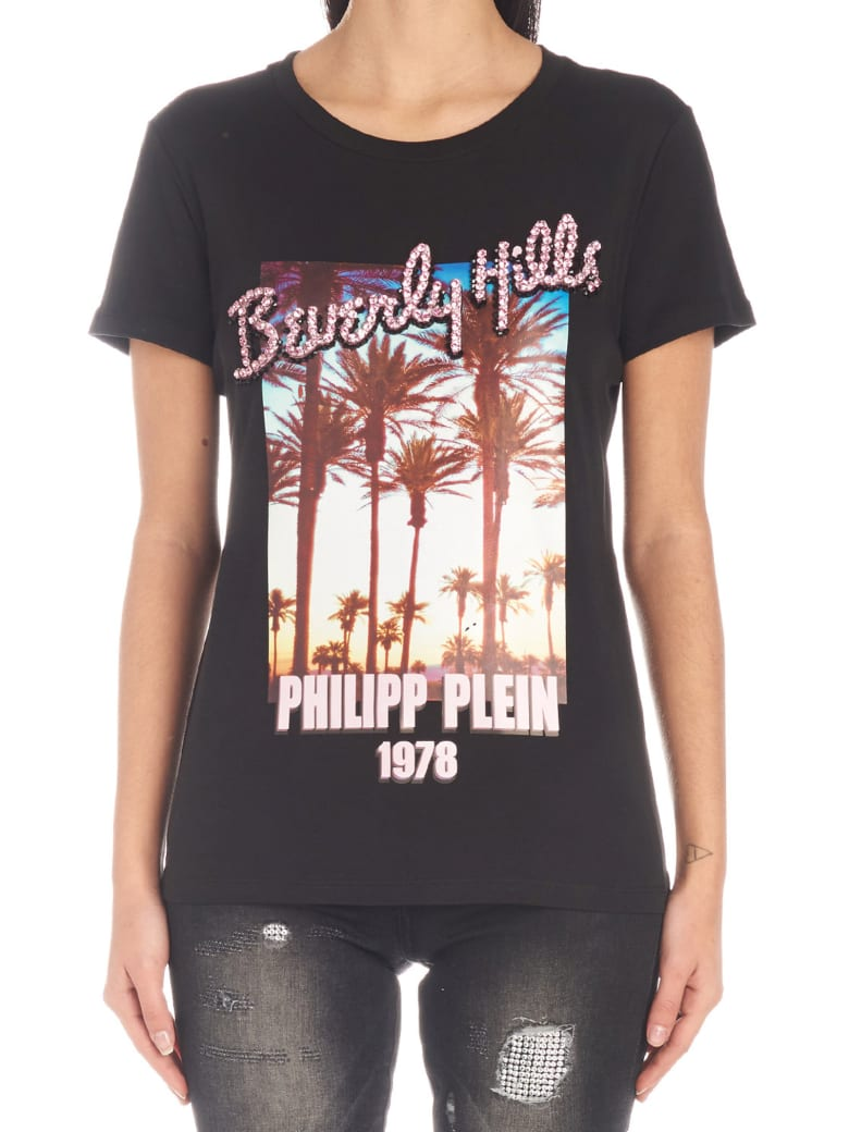 Philipp Plein 'beverly Hills' T-shirt - Black