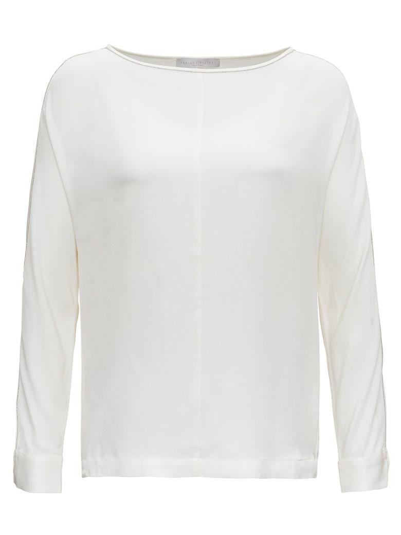 Fabiana Filippi Silk Shirt - White