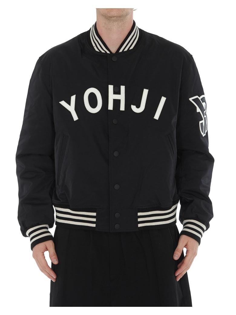 Y-3 Logo Yohji Bomber - Black