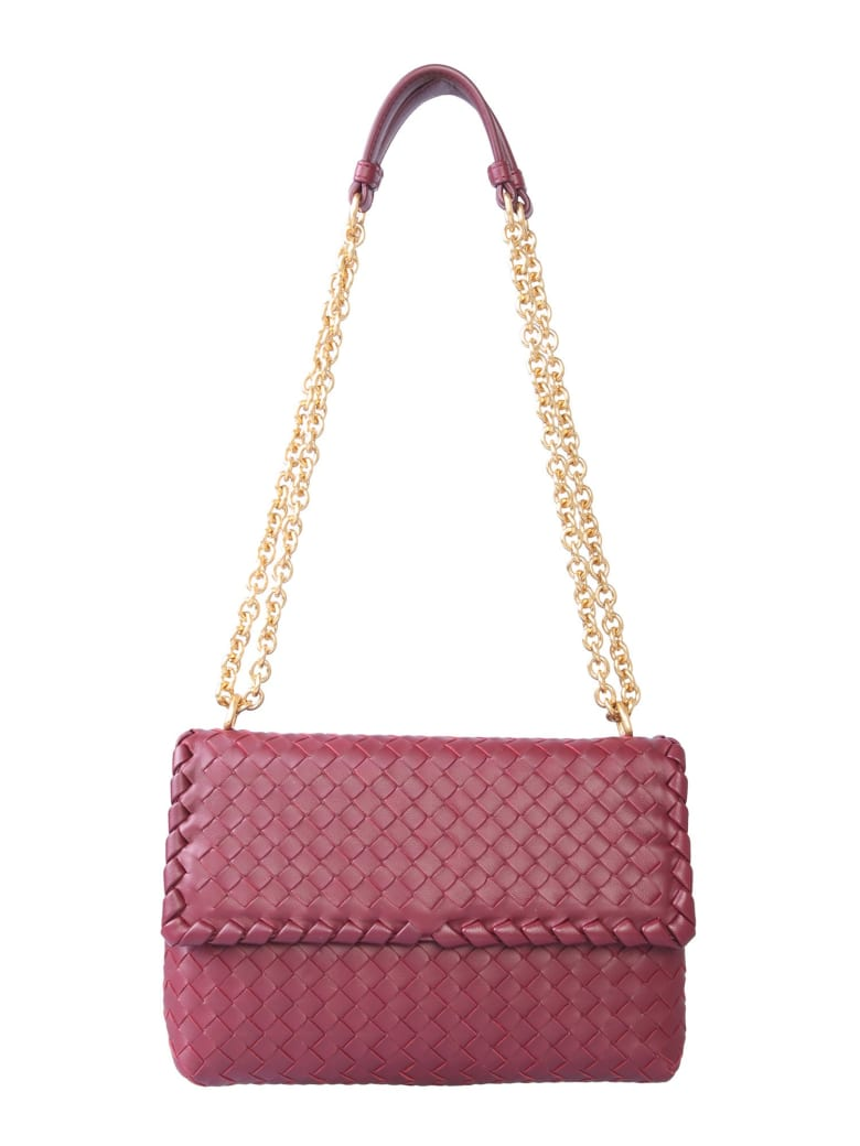 Bottega Veneta Small Olimpia Bag - BORDEAUX
