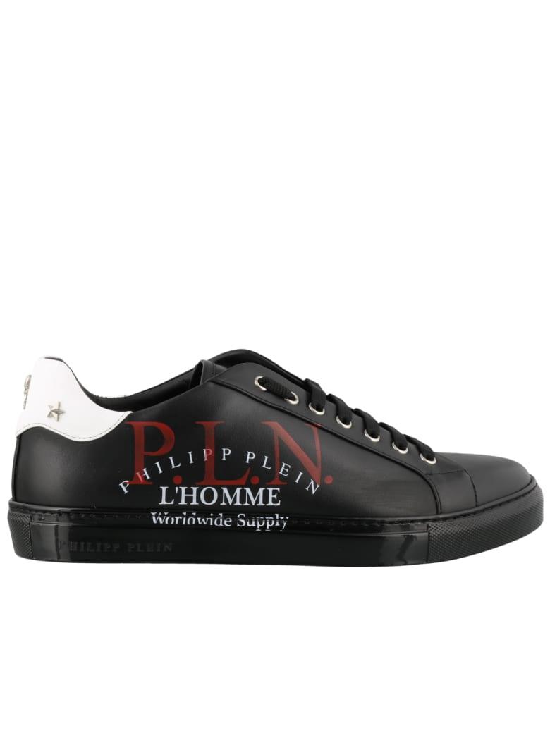 Philipp Plein Lo-top Sneakers P.l.n. - Black