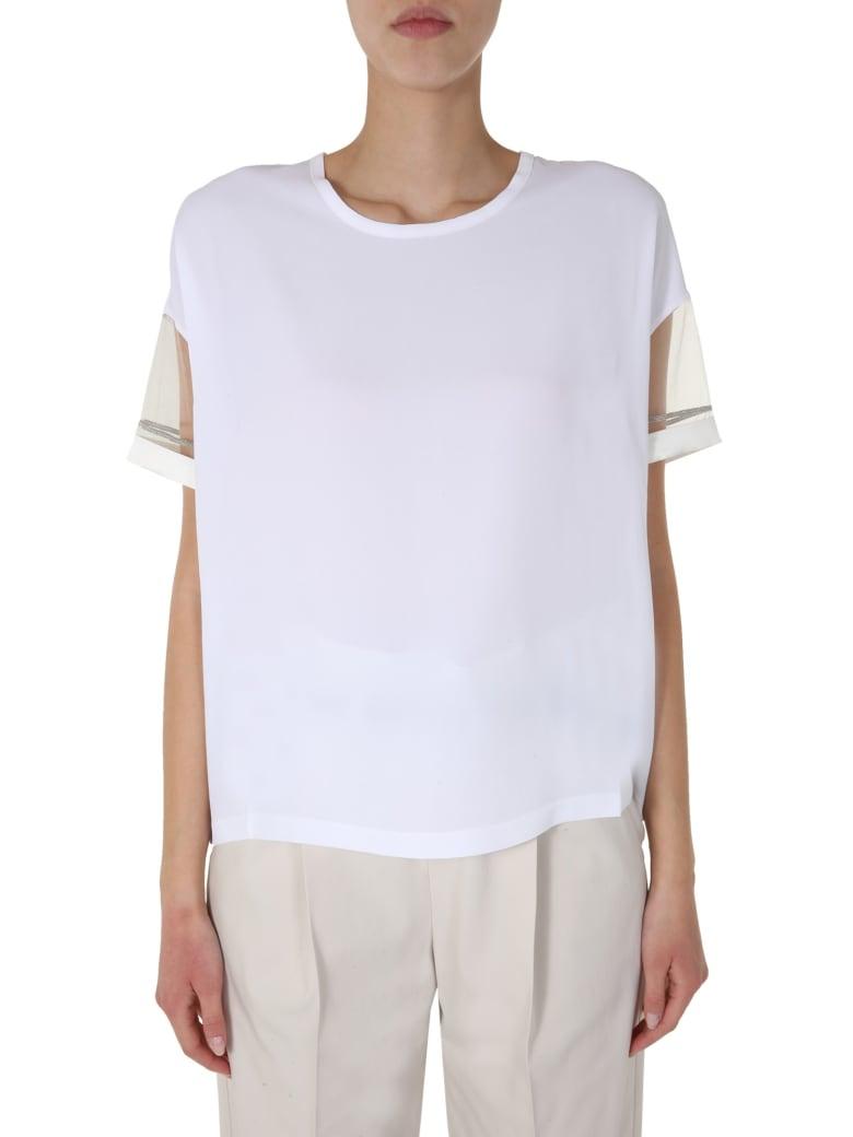 Fabiana Filippi Round Neck T-shirt - BIANCO