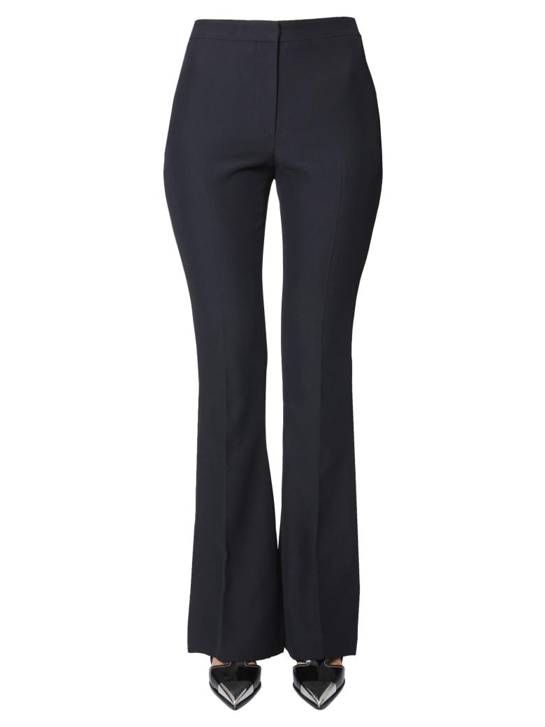 Alexander McQueen Bootcut Pants - NERO