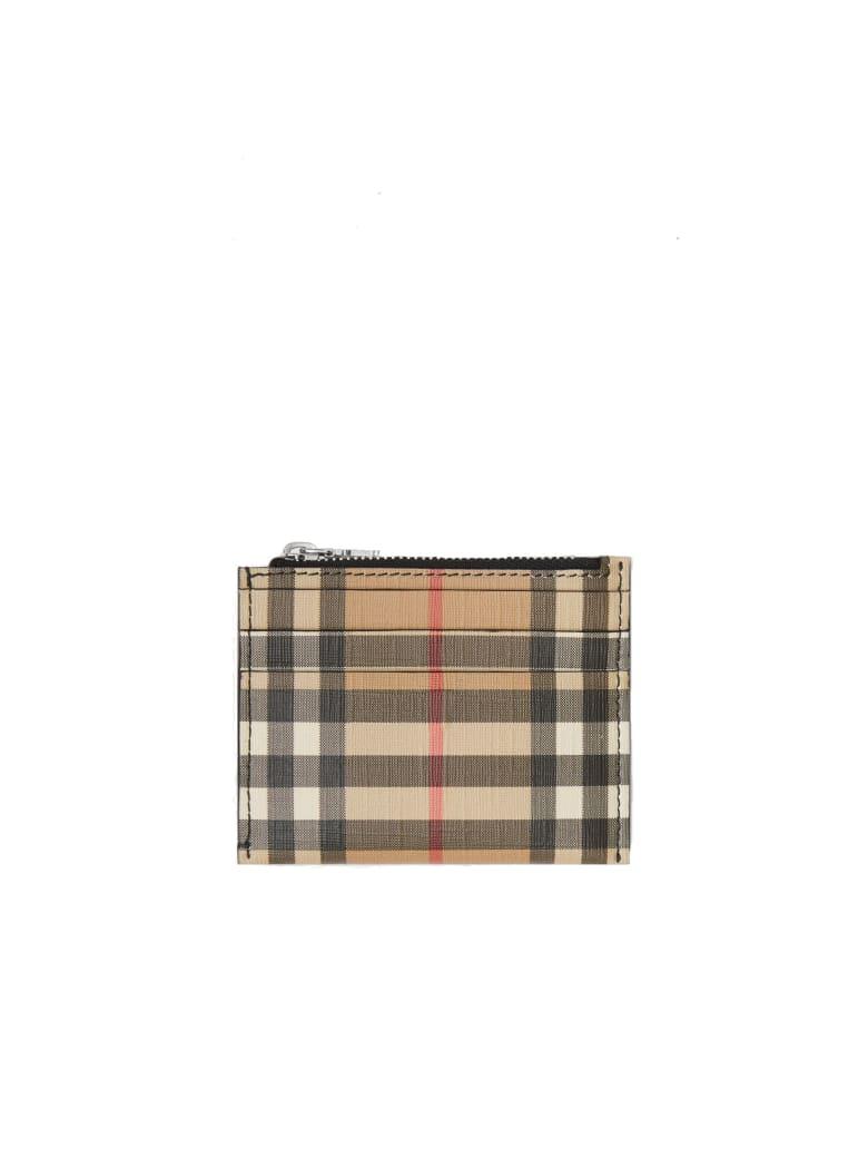Burberry Le Simone Dcf Polyuretane Cardcase - Black