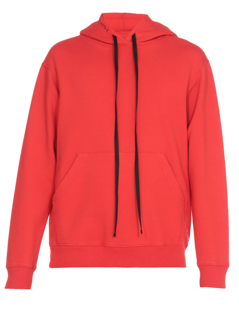 Ben Taverniti Unravel Project Cotton Sweatshirt - RED RED