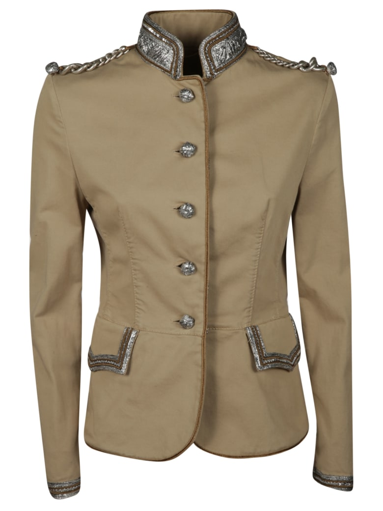 Ermanno Scervino Embellished Jacket - beige