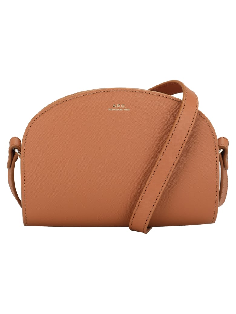 A.P.C. Mini Demi-lune Bag - HAVANA