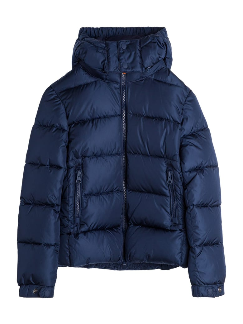 Save the Duck Ecological Nylon Down Jacket - Blu