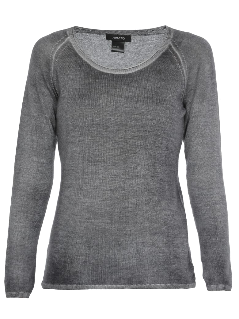 Avant Toi Cashmere And Silk Sweater - HUSKY