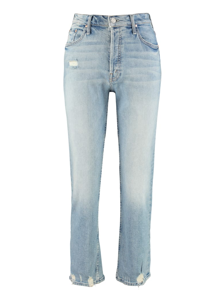 Mother Tomcat Cropped Jeans - Denim