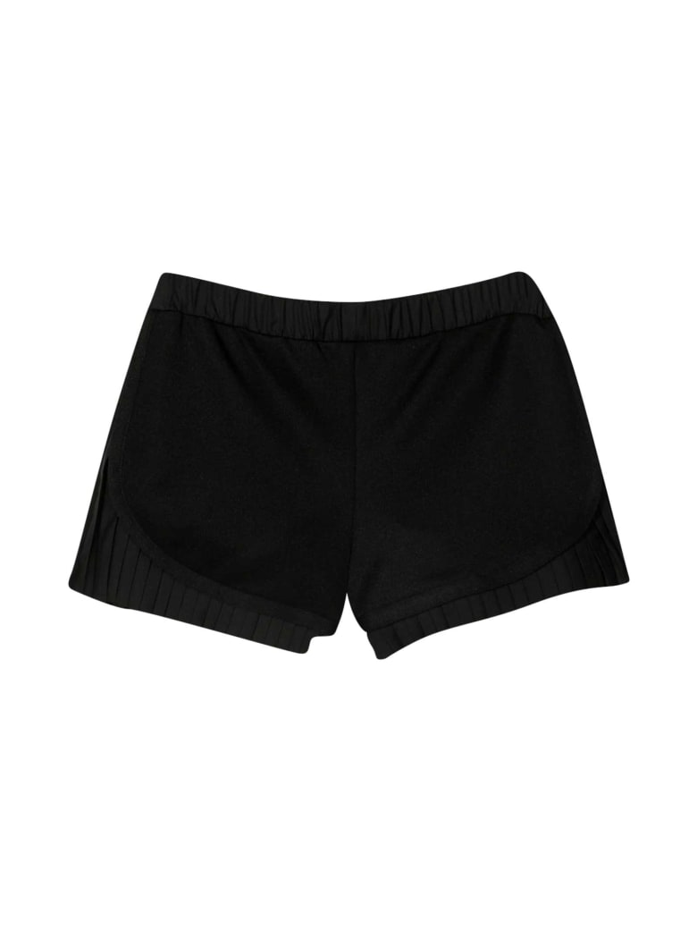 Moncler Black Shorts - Unica