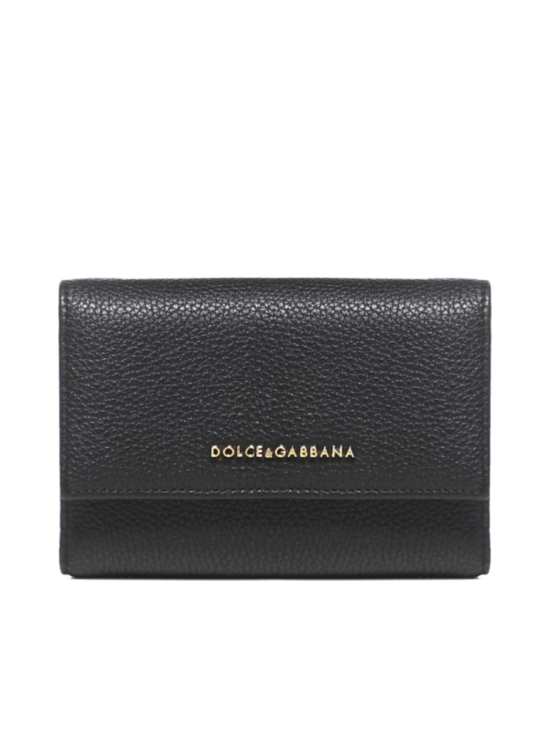 Dolce & Gabbana Logo Small Continental Wallet - Nero