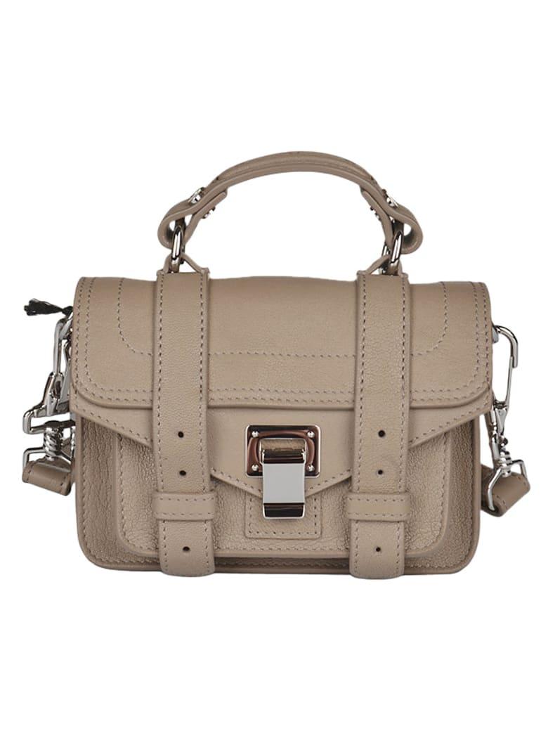 Proenza Schouler Snap-lock Envelope Shoulder Bag - Light