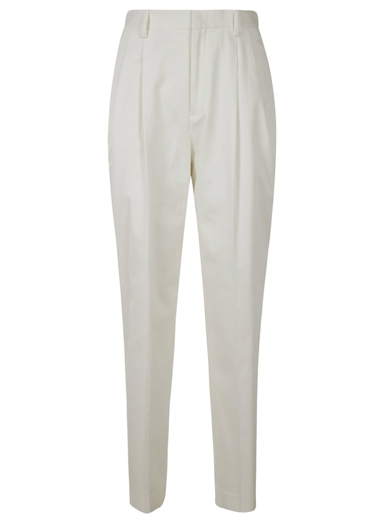 RED Valentino Long Classic Trousers - White