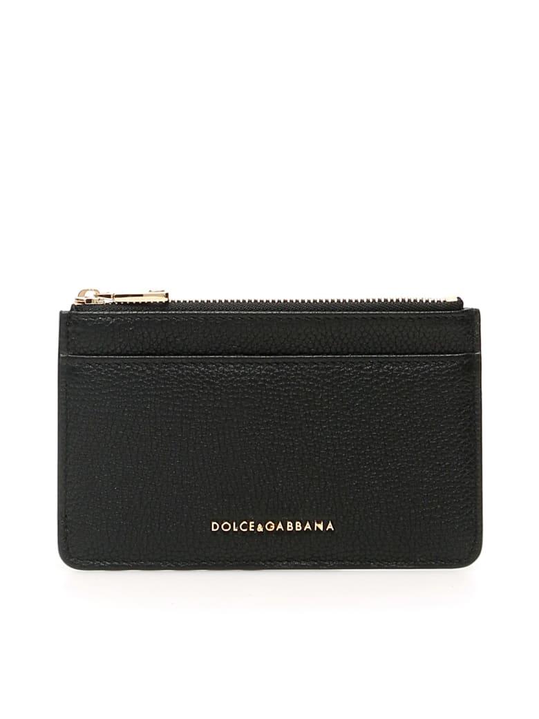 Dolce & Gabbana Logo Cardholder - Nero