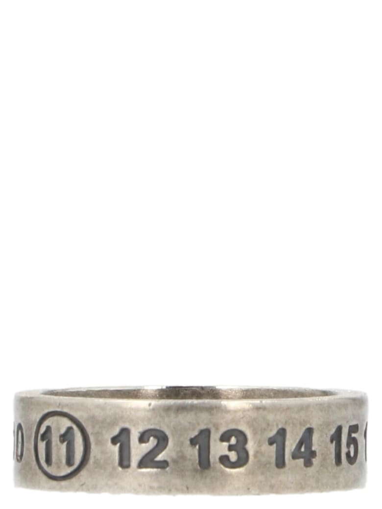 Maison Margiela 'numbers' Ring - Silver