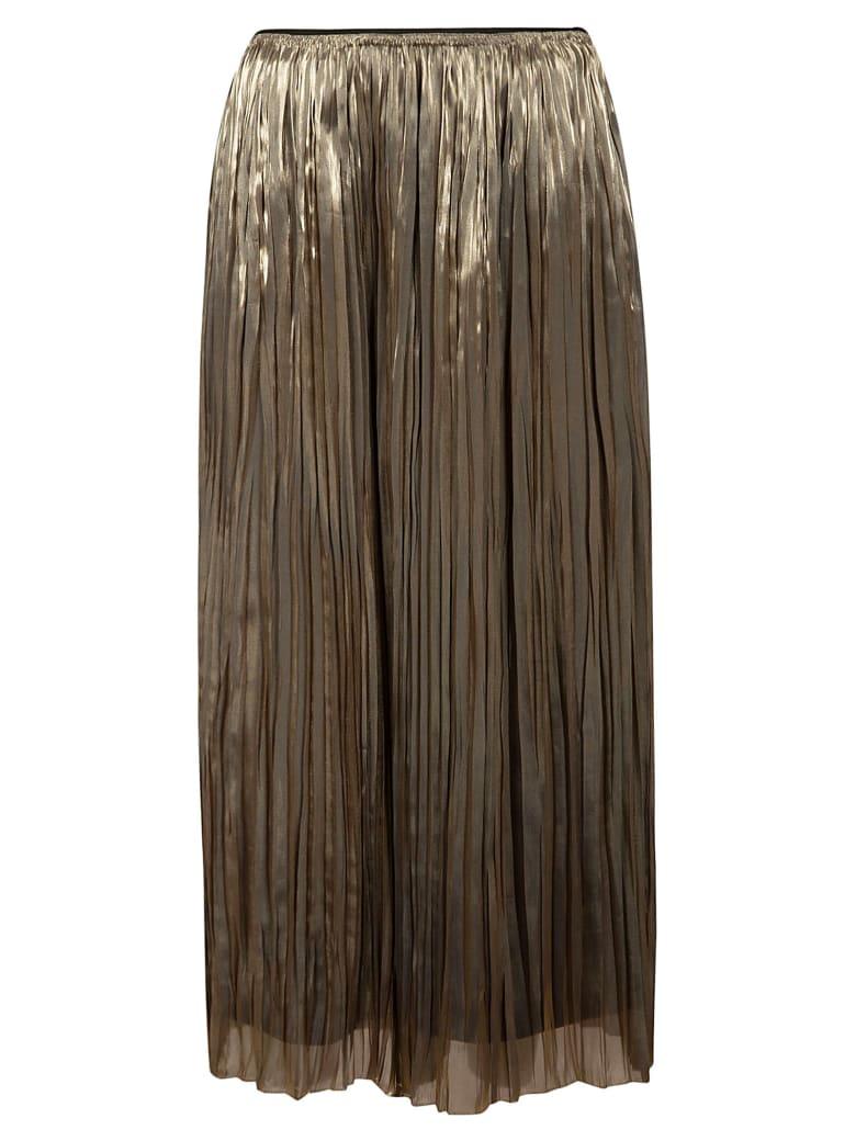 Vince Pleated Skirt - Moonstone